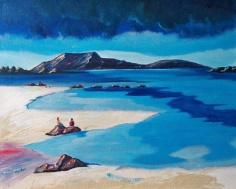 View to Rhum - Robert Marshall