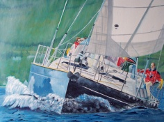 Yachting on the Clyde - Robert Marshall